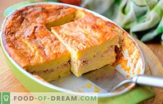 Potato casserole with minced meat - a simple dish of the available products. Potato casserole with minced meat and vegetables