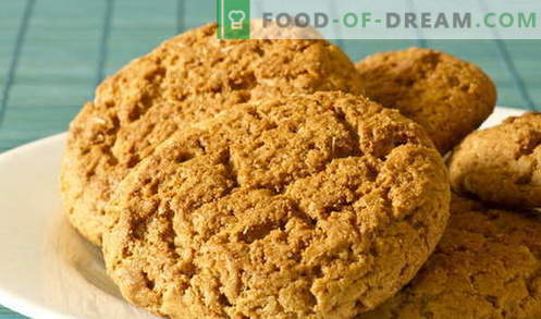Oatmeal cookies - the best recipes. How to cook oatmeal cookies.