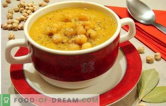 Soup with chickpeas - oriental notes in the everyday menu. Old and new recipes of tasty, aromatic and unusual soup with chickpeas