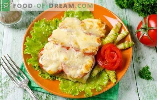 Tilapia with cheese is a delicate fish dish. Variants of tilapia with cheese in batter, in dough, in the form of roll, casserole and steaks