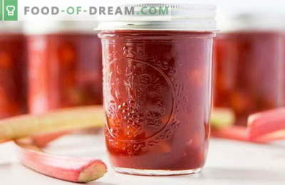 Rhubarb jam: how to cook properly