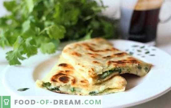 Pita with cheese in a pan - lazy pancakes! Recipes of different fillings for fried pita with cheese in a pan