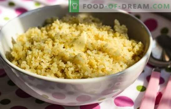 Bulgur in a multicooker - a simple exotic. Recipes of healthy and tasty bulgur in the slow cooker for our table