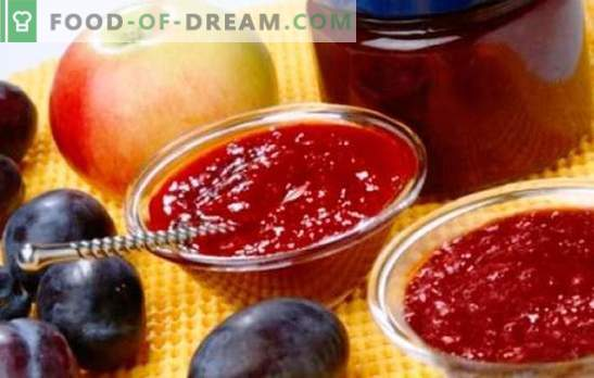 Jam from apples and plums - amber sweetness to tea and for baking. The best recipes for fragrant jam from apples and plums