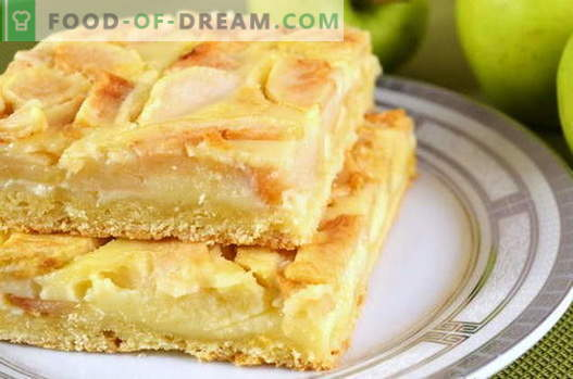Apple Pie - the best recipes. How to properly and tasty to cook apple pie.