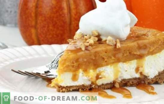 Pumpkin dessert - add bright colors of cloudy autumn. How to cook a delicious pumpkin dessert quickly, tasty, vitamin