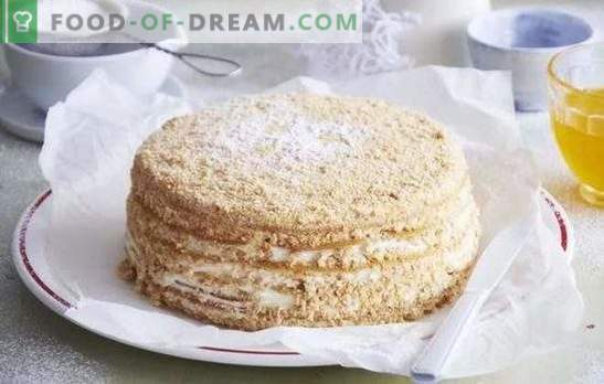 Honey Cake: a step-by-step recipe for your favorite dessert! Cooking delicious honey cakes with proven step-by-step recipes