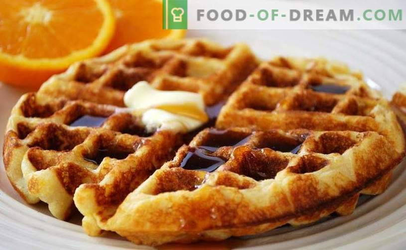 Belgian waffles - how to cook quickly and tasty at home