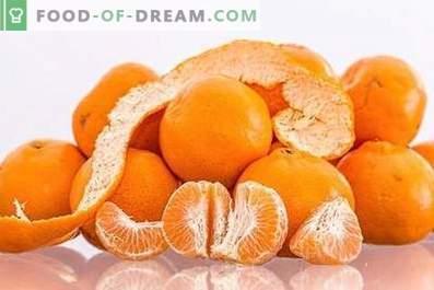Mandarins: health benefits and harm