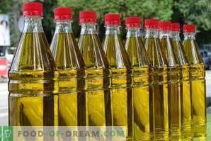 How to store sunflower oil