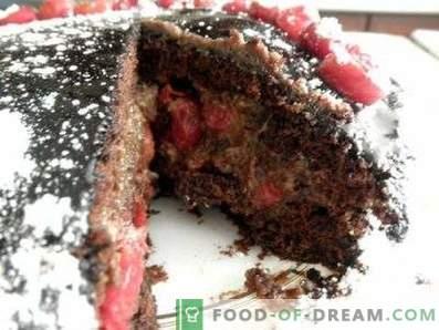 Drunk Cherry Cake