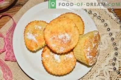 Muffins mit Äpfeln und Zimt