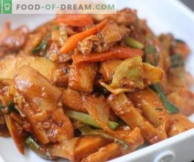 Korean chicken hee