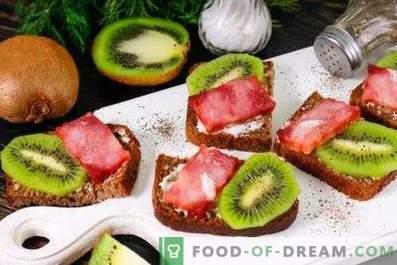 Kiwi Sandwiches