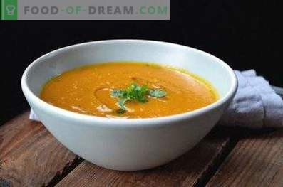 Chickpea puree soup