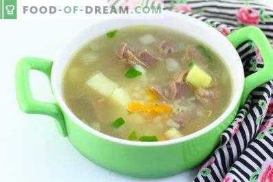 Chicken stomach soup