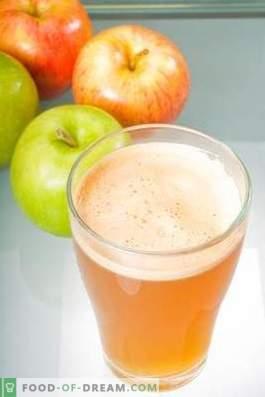 How to lighten apple juice