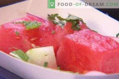 Marinated Instant Watermelon