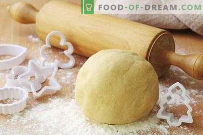 How to make shortbread dough