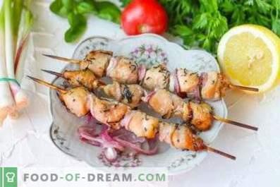 Marinade for chicken kebab