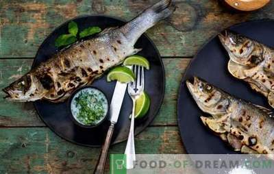 How to spoil grilled fish: major errors