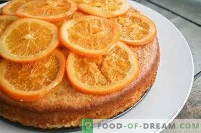 Charlotte aux oranges