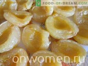 Candied apricot seedless