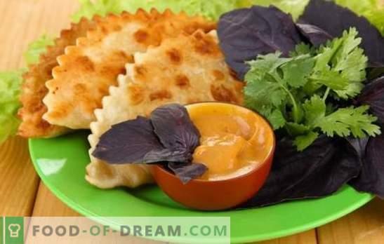 Chebureks on kefir - tasty, simple. Recipes for chebureks on kefir using various fillings